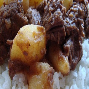 Meat with Potatoes, Carne con Papas Recipe