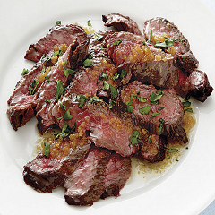 Churrasco with Herbs Butter Recipe - www.ElColmado.com