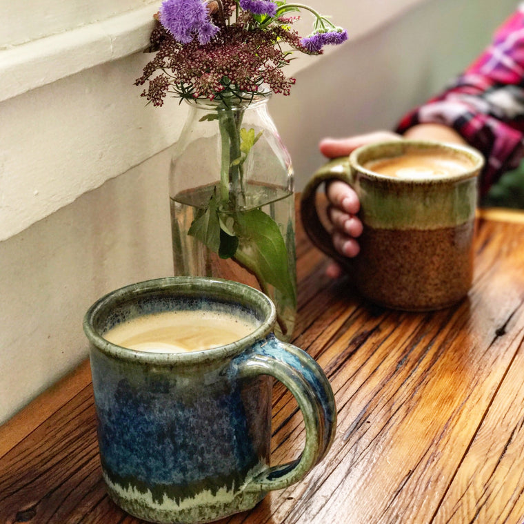 Fireside Coffee Mugs Handmade in the Adirondacks