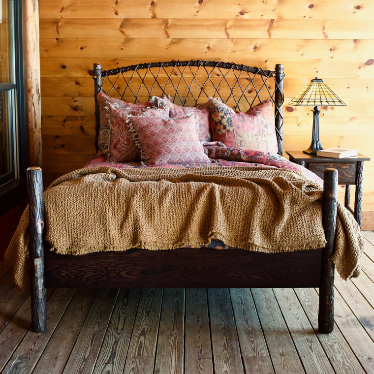 Twisted Hickory Bed