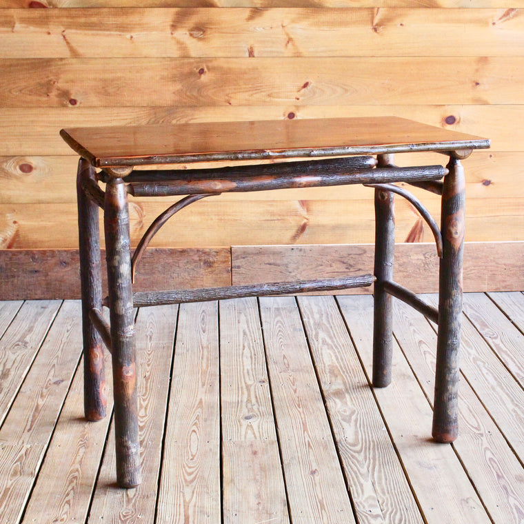 Classic Writing Desk with Barnwood Top