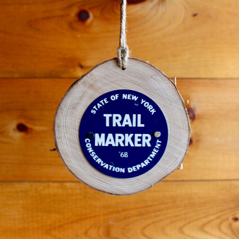 State of New York Trail Marker Ornament