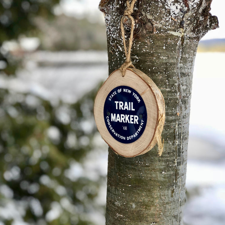 State of New York Trail Marker