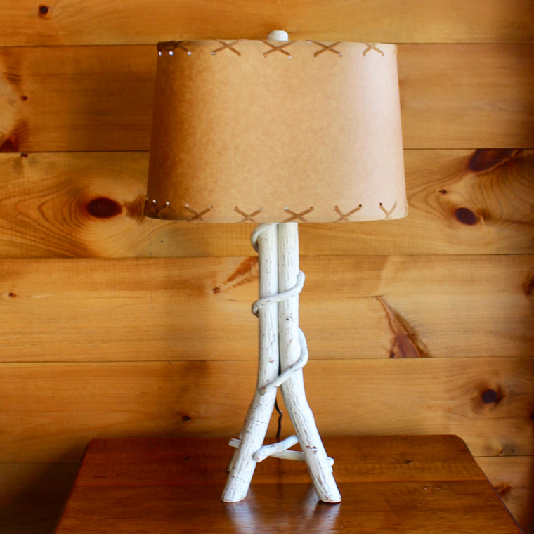 Twisted Hickory Table Lamp