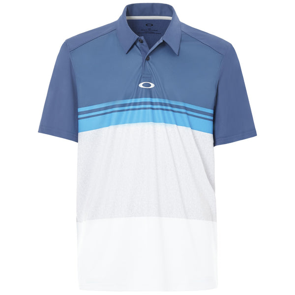 OAKLEY COLOR BLOCK TAKE POLO ENSIGN BLUE - Miami Golf