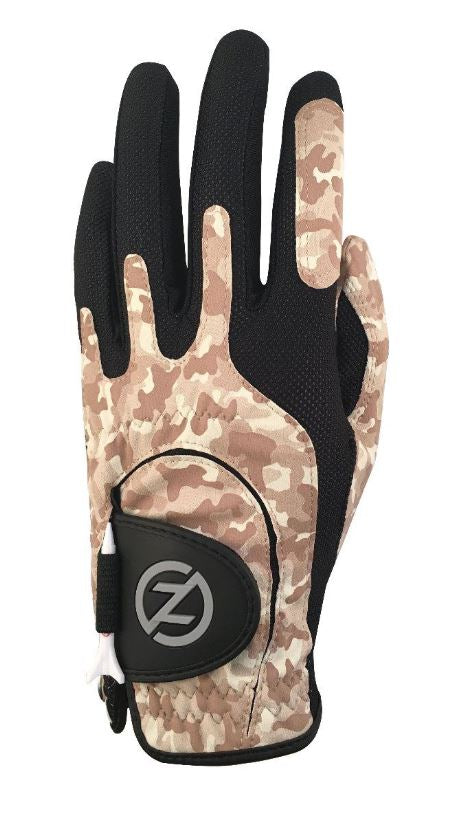 Zero Friction Universal Fit One Size Golf Glove (DESERT CAMO)