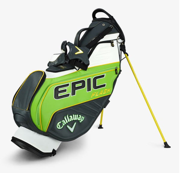 CALLAWAY EPIC FLASH STAFF DOUBLE STRAP STAND BAG - Miami Golf