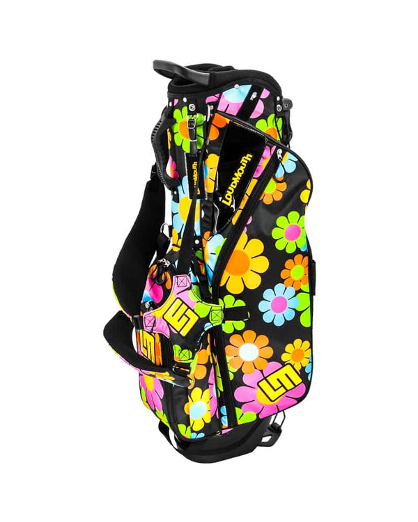 LOUDBAGS MAGIC BUS 8.5'' DOUBLE STRAP GOLF STAND BAG - Miami Golf
