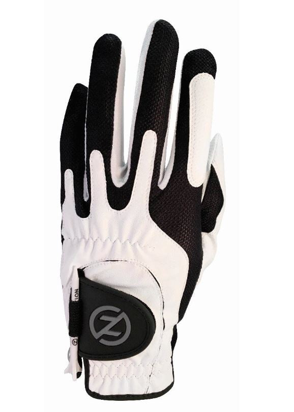 Zero Friction Universal Fit One Size Golf Glove (WHITE)