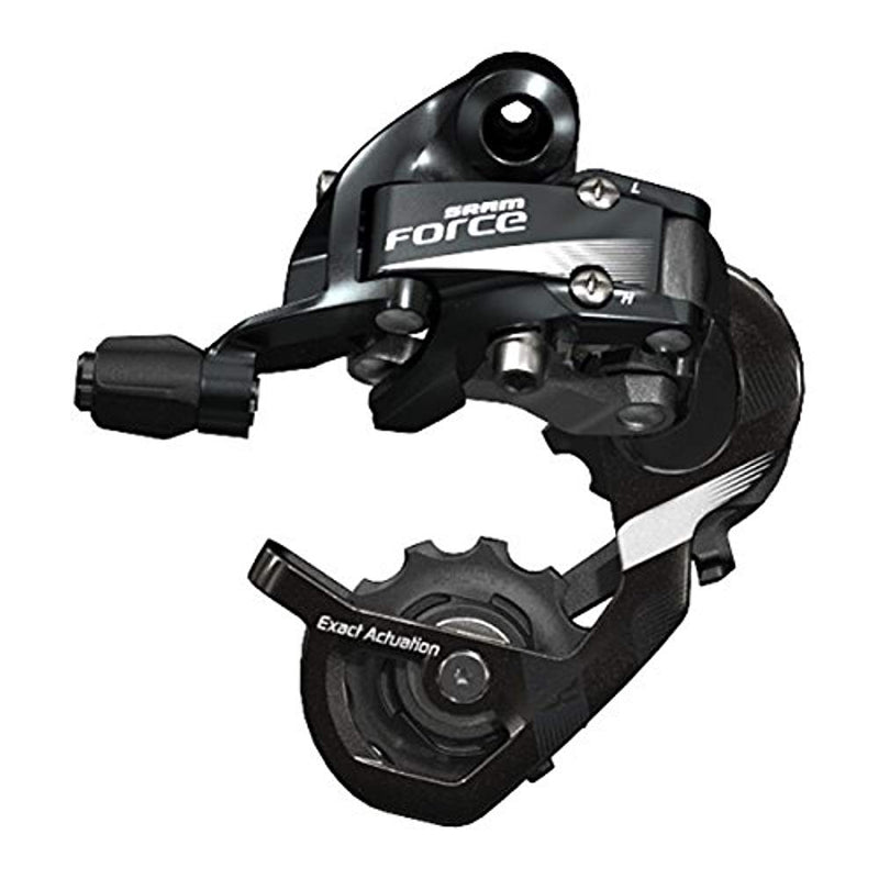SRAM Force 22 Bicycle Rear Derailleur, 11-Speed Medium / WiFli Cage-Sporting Goods > Cycling > Bicycle Components & Parts > Derailleurs (Rear)-The Gear Attic
