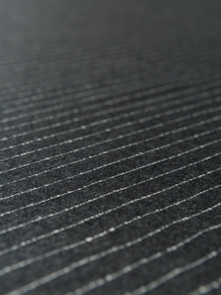 Luigi's Narrow Pinstripe Wool Flannel