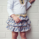Love Henry - Grace Frilly Skirt-Skirt-Sweet Peas Kidswear