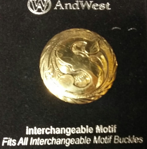 AndWest Gold Plated Interchangeable Motif S