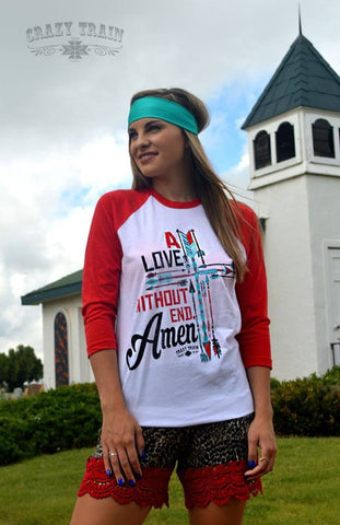 A Love Without End Baseball Tee