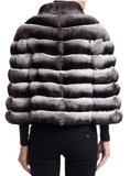 Steven Dann - Steven Dann Chinchilla Fur Puffer Jacket - Buy Online