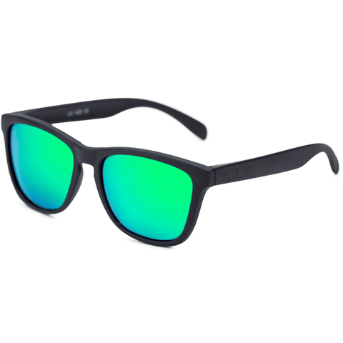Original Matte Black - Bright Green