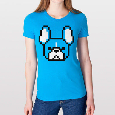 8-bit Frenchie Unisex Tank.