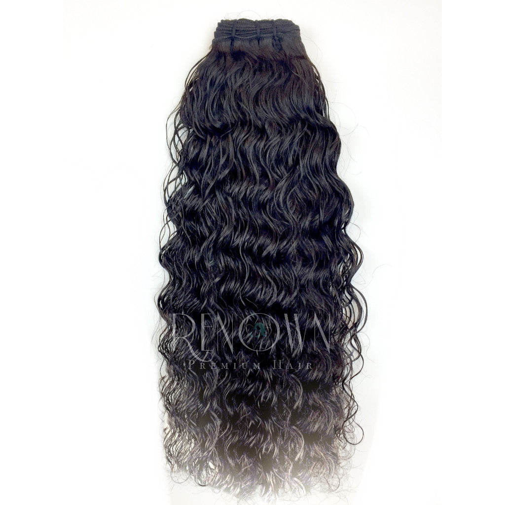 Butt Naked Indian Temple Natural Curl - Renown Premium Hair-7349