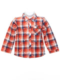 Mayoral Baby Boy Long Sleeve Check Shirt & Dungaree