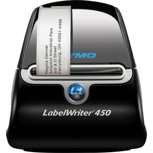 Dymo LabelWriter 450 Direct Thermal Printer - Monochrome - Label Print