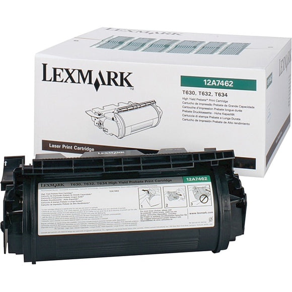 Lexmark Toner Cartridge - Black - 21000 Pages At 5% Coverage