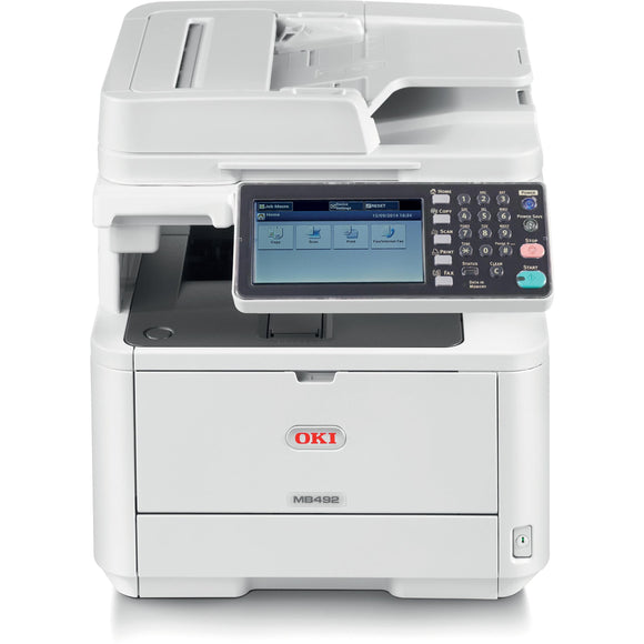 Oki MB492 LED Multifunction Printer - Monochrome