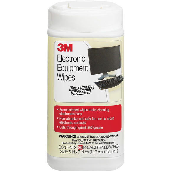 3M Premoistened Electronic Cleaning Wipes