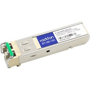 AddOn Ciena B-730-0006-028 Compatible TAA Compliant 1000Base-DWDM 100GHz SFP Transceiver (SMF, 1554.94nm, 120km, LC, DOM)