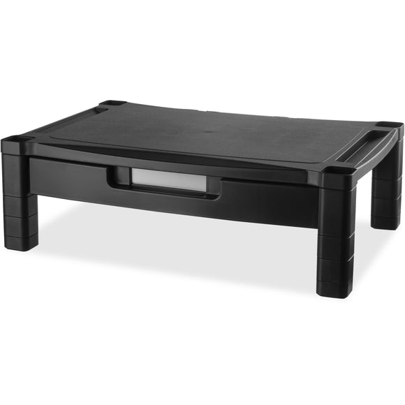 Kantek Extra Wide Adjustable Monitor Laptop Stand with Drawer