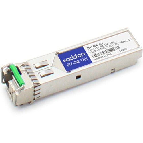 AddOn Accedian 7SH-000 Compatible TAA Compliant 100Base-BX SFP Transceiver (SMF, 1550nmTx-1310nmRx, 40km, LC)