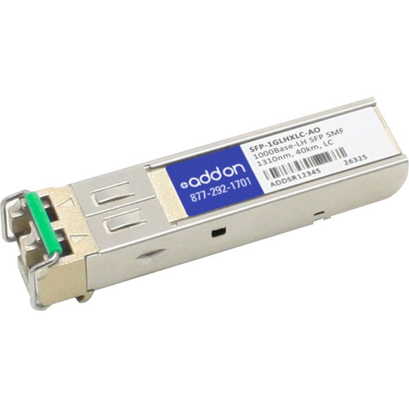 AddOn Moxa SFP-1GLHXLC Compatible TAA Compliant 1000Base-LH SFP Transceiver (SMF, 1310nm, 40km, LC)