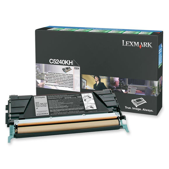 Lexmark Toner Cartridge - Black -  8000 Pages At 5% Coverage