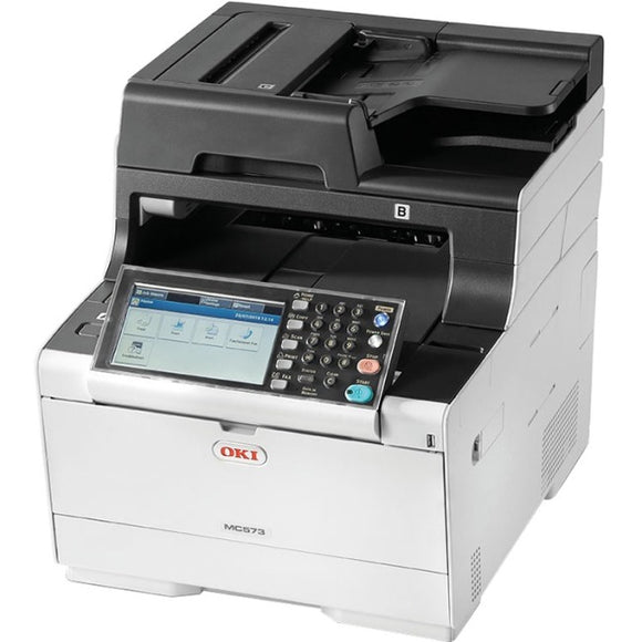 Oki MC500 MC573dn LED Multifunction Printer - Color