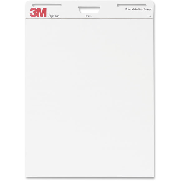 3m Mobile Interactive Solution Flip Chart  25 In X 30 In 40 Sht Per Pad