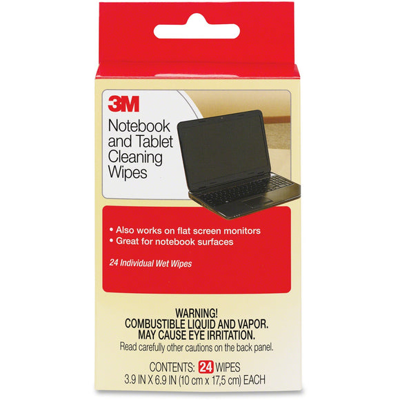 3m Mobile Interactive Solution Notebook Screen Cleaning Wipes