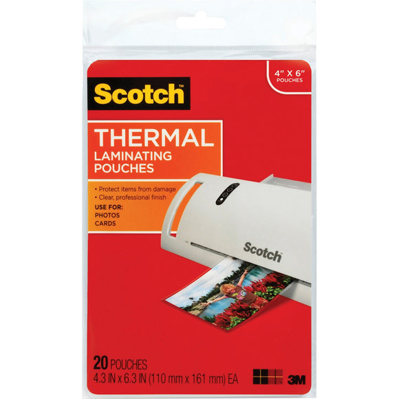 3m Mobile Interactive Solution Thermal Pouches, Photo Size