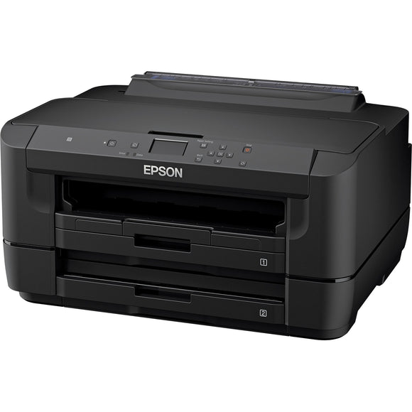 Epson WorkForce WF-7210 Inkjet Printer - Color - 4800 x 2400 dpi Print - Plain Paper Print - Desktop