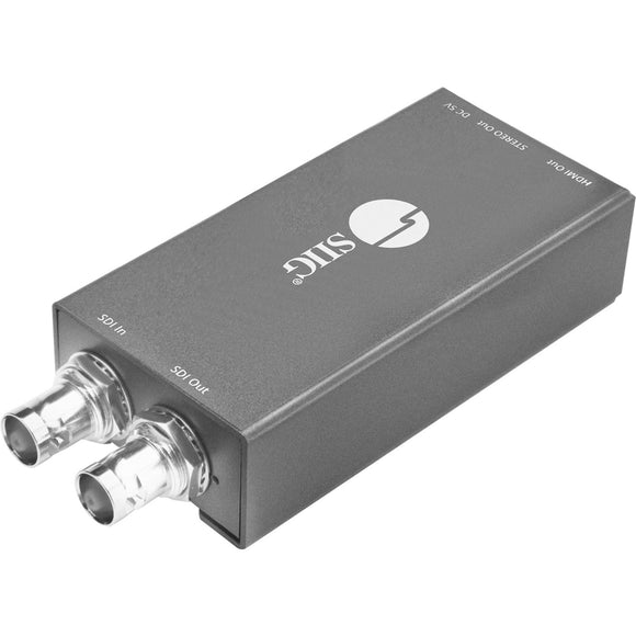 SIIG 3G-HD-SD-SDI to HDMI with Audio Extractor Mini Converter