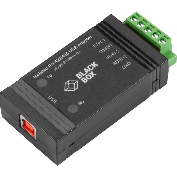 Black Box USB to RS422-485 Converter with Opto-Isolation