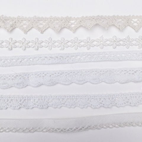 Cream Crochet Chokers | Elnique