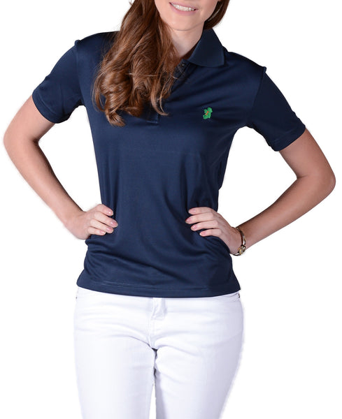 Ladies Navy Blue Irish Shirts - Polo by Ireland Shirt