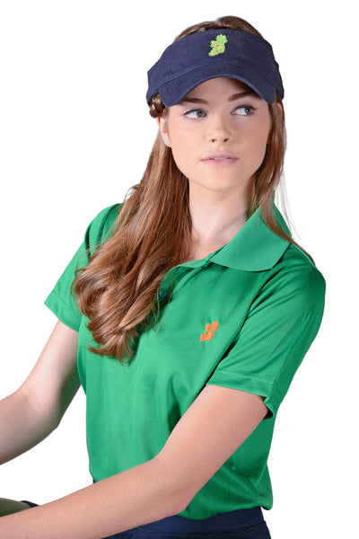 Ladies Kelly Green Irish Shirt - Polo by Ireland Shirt-1