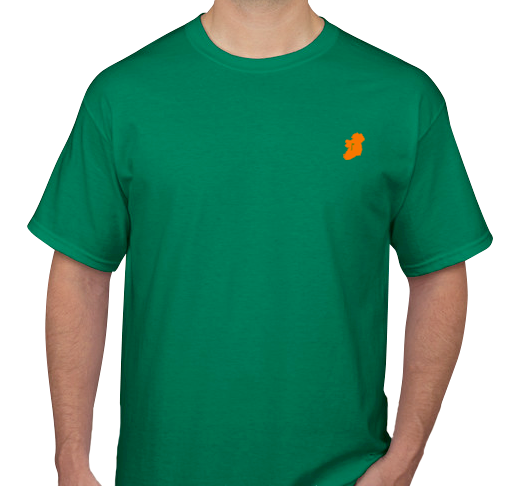 Men's Kelly Green Short Sleeve Irish T Shirt by Ireland Shirt