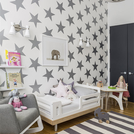 Sissy & Marley Wallpaper | Lucky Star in Charcoal WP157