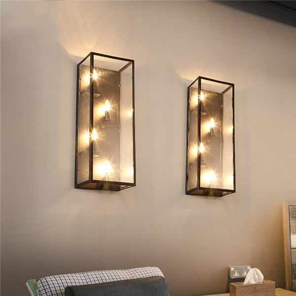 Industrial Retro Rustic Wall Lamp WL216 - Cheerhuzz
