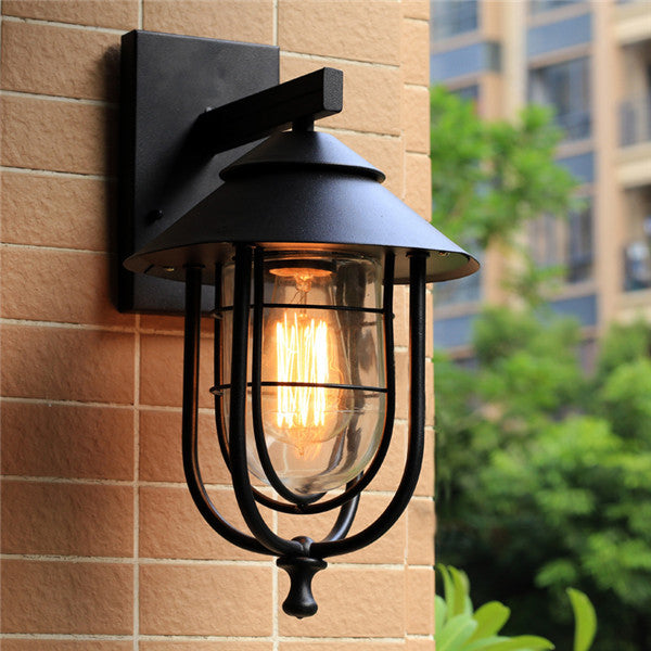 Industrial Outdoor Wall Lamp WL253 - Cheerhuzz