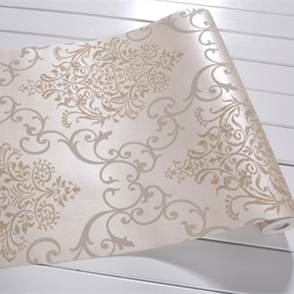 Floral Damask Wallpaper WP19 - Cheerhuzz