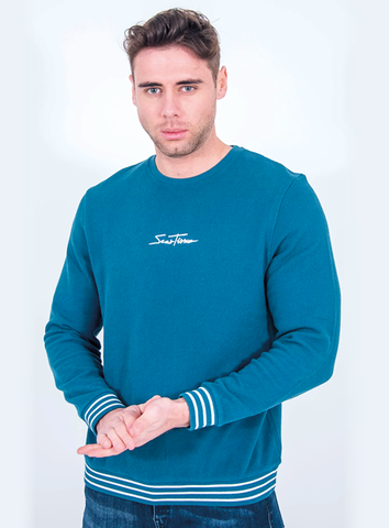 SIGNATURE SWEAT - TEAL