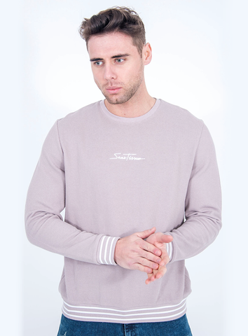 SIGNATURE SWEAT - GREY