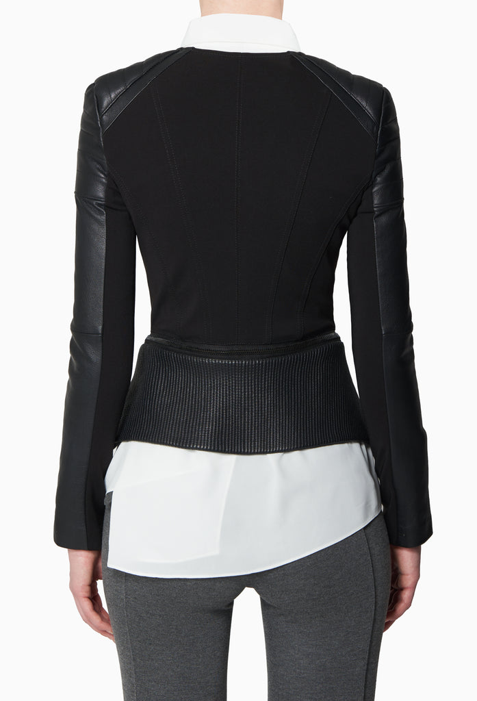Peplum Zip Jacket